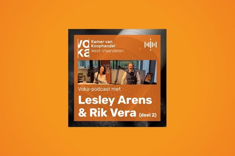 Podcast met Lesley Arens en Rik Vera: De toekomst van hr (deel 2)