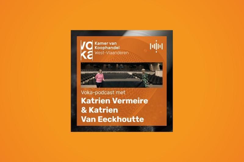 Podcast met Katrien Vermeire (John & Jane) en Katrien Van Eeckhoutte (Concertgebouw Brugge)