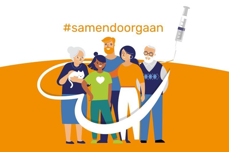 """Voka West-Vlaanderen lanceert campagne: """"Samen doen we het tij keren, laat je vaccineren"""""""