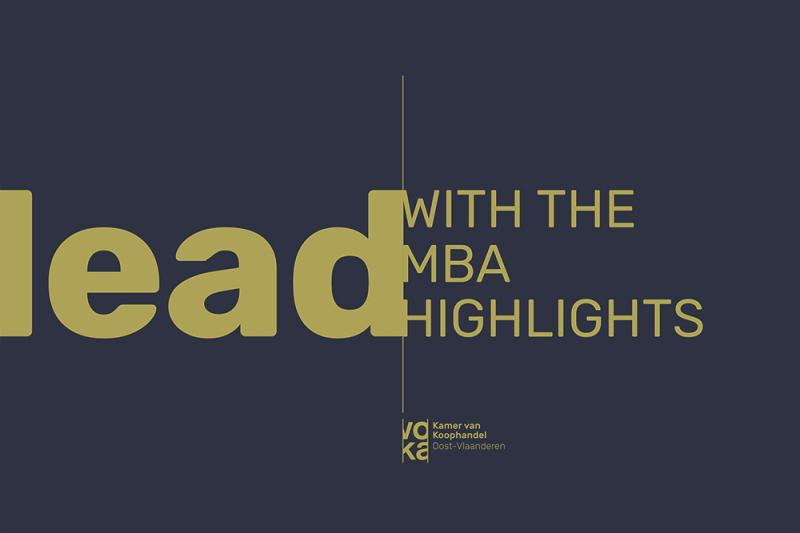 MBA Highlights - Infosessie 14 mei 2019