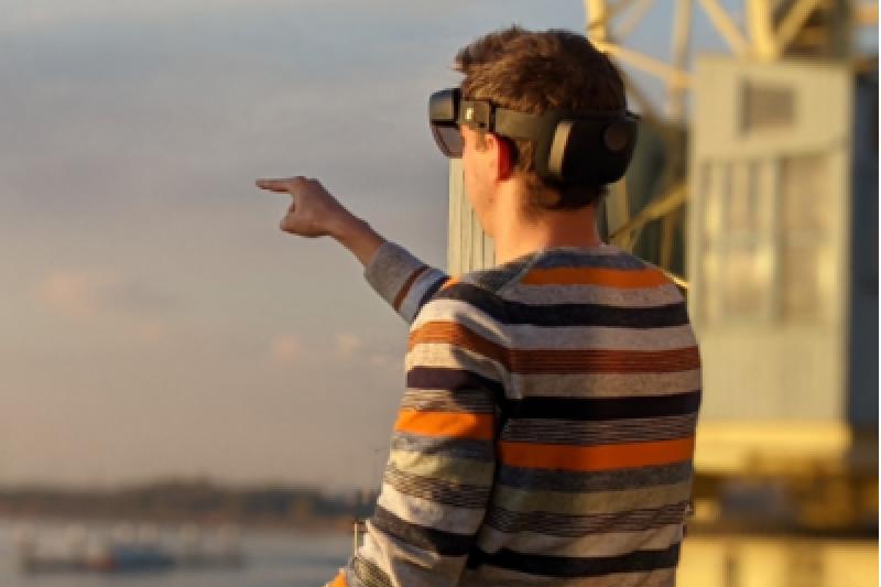Hololensbril met eindeloze mogelijkheden