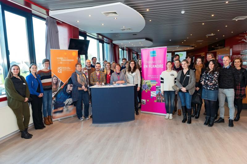 West-Vlaamse bedrijven blijven aantrekkelijk voor Waalse werkzoekenden