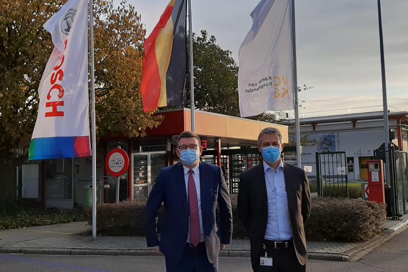 Bedrijfsbezoek Hans Maertens @ Bosch Tienen