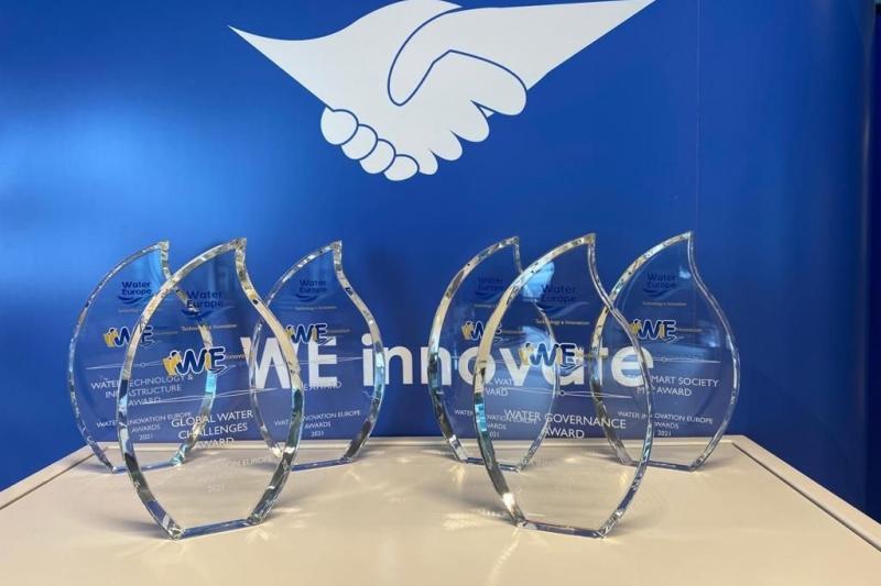 Gentse start-up AM-TEAM wint prestigieuze award in digitale waterinnovatie