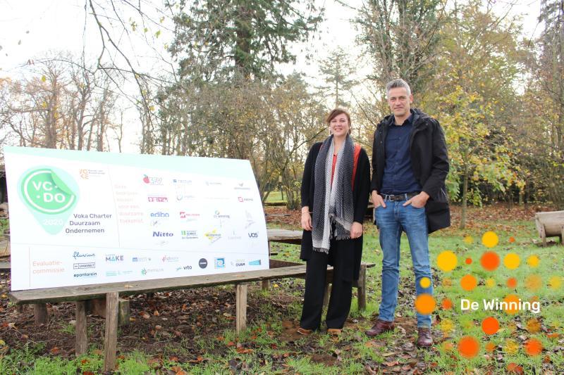 Cindy Vanvelthoven & Filip Vanlommel, De Winning