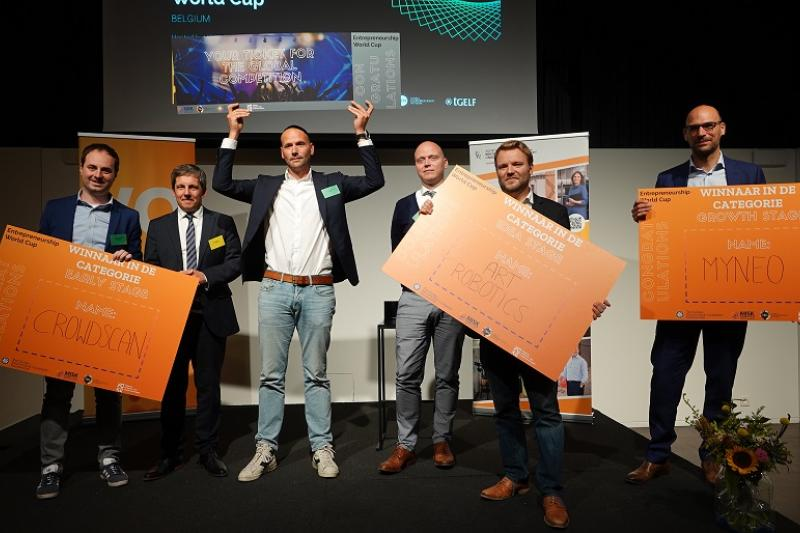 Winnaars EWC Voka