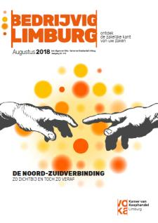 cover Bedrijvig Limburg #8 (augustus 2018)