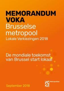 Voka Metropolitan Voka Verkiezingmemorandum 2018