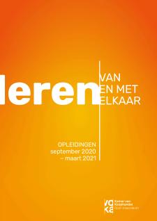 Voka Oost-Vlaanderen Opleidingskalender September 2020 - Maart 2021