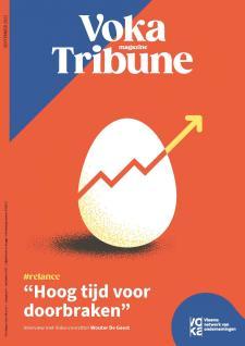 Cover Voka Tribune met doorbrekend ei