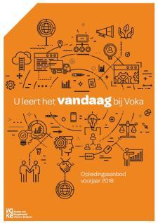 Vlaams-Brabant opleidingsaanbod voorjaar 2018