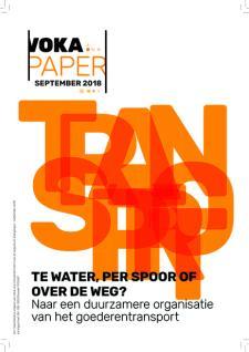 Voka Paper 'Te water, per spoor of over de weg'