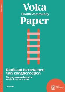 HC cover Radicaal hertekenen van zorberoepen