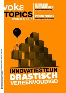 Voka Topics - innovatiesteun drastisch vereenvoudigd